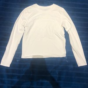 white long sleeve tee from urban